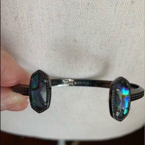 Kendra Scott Elton Cuff Bracelet in Abalone